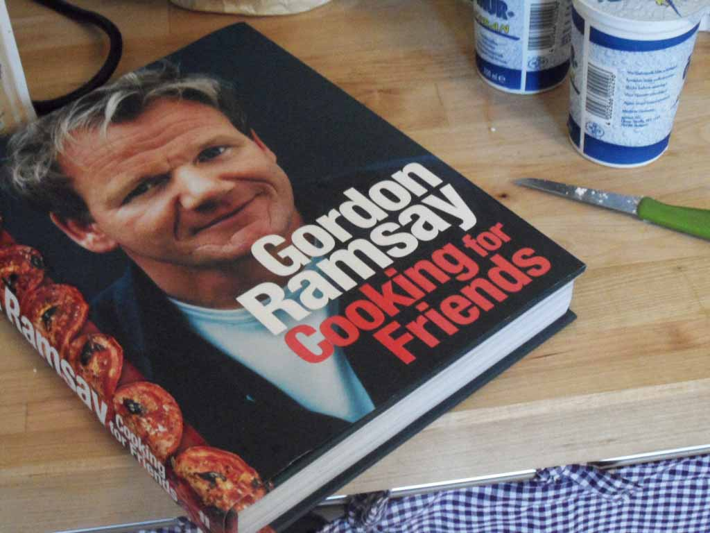 G Ramsay Cooking for Friends