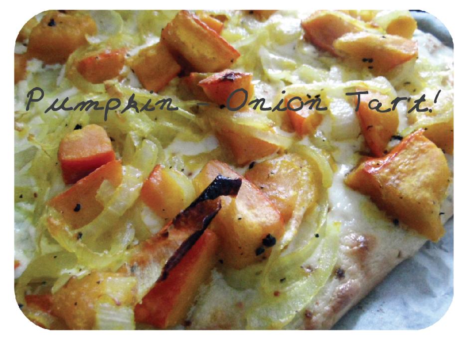 Pumpkin-Onion Tart
