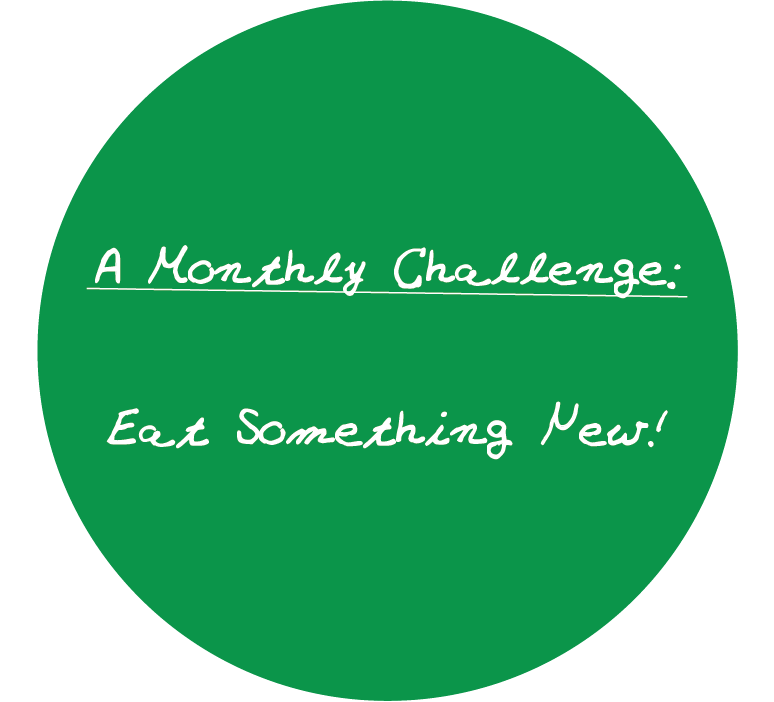 Eat something new