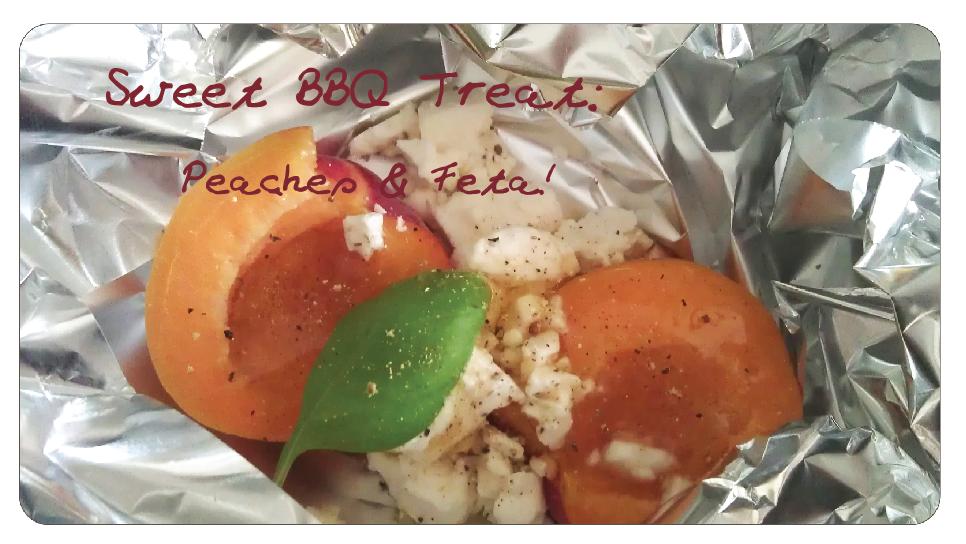 BBQ Peaches Feta