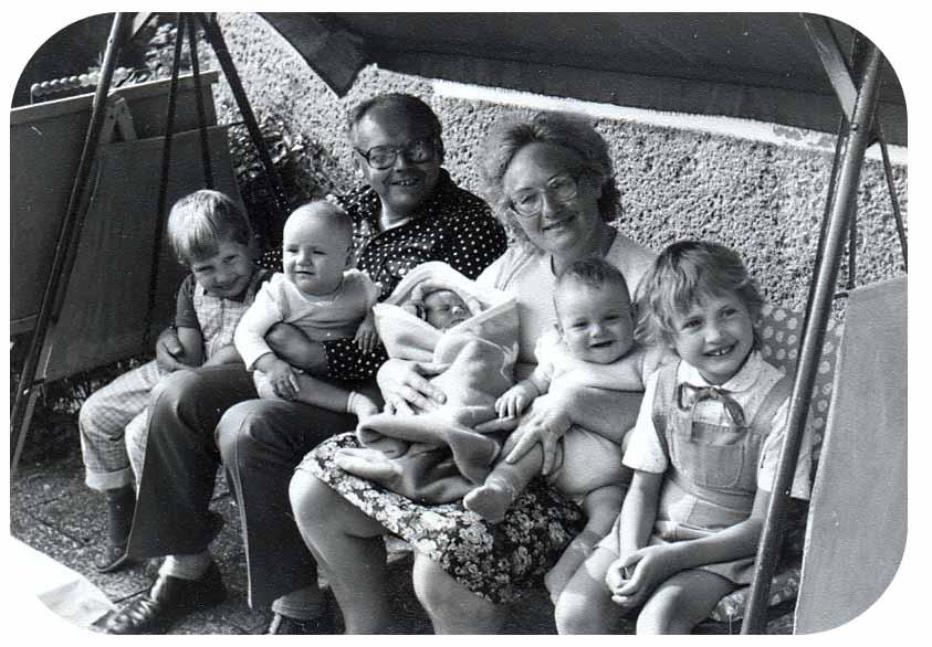 Opi Omi Chemnitz EnkelHollywoodschaukel 1986