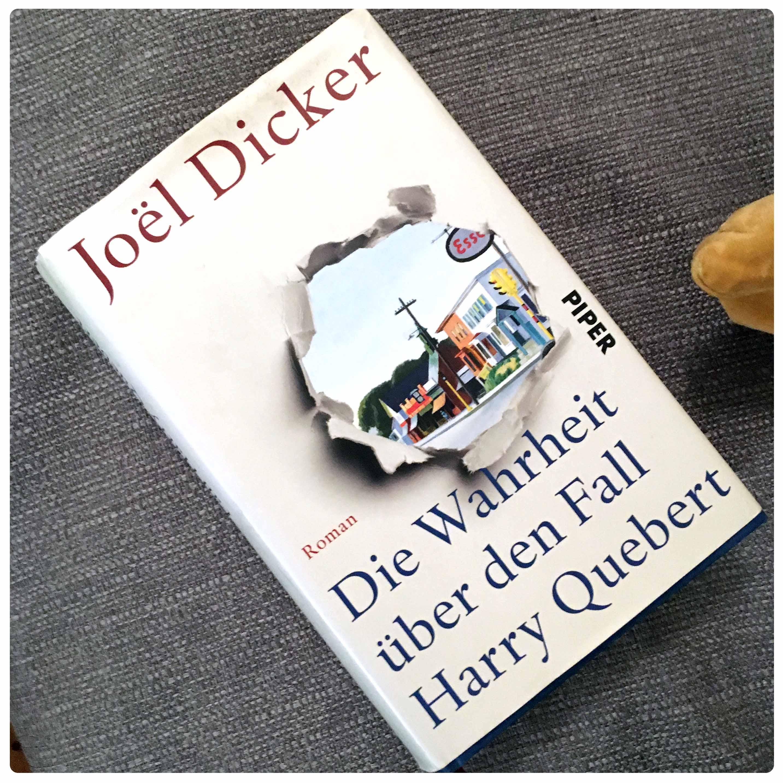 Ein Buch, das viel zu lange auf meinen SUB lag: Die Wahrheit über den Fall Harry Quebert